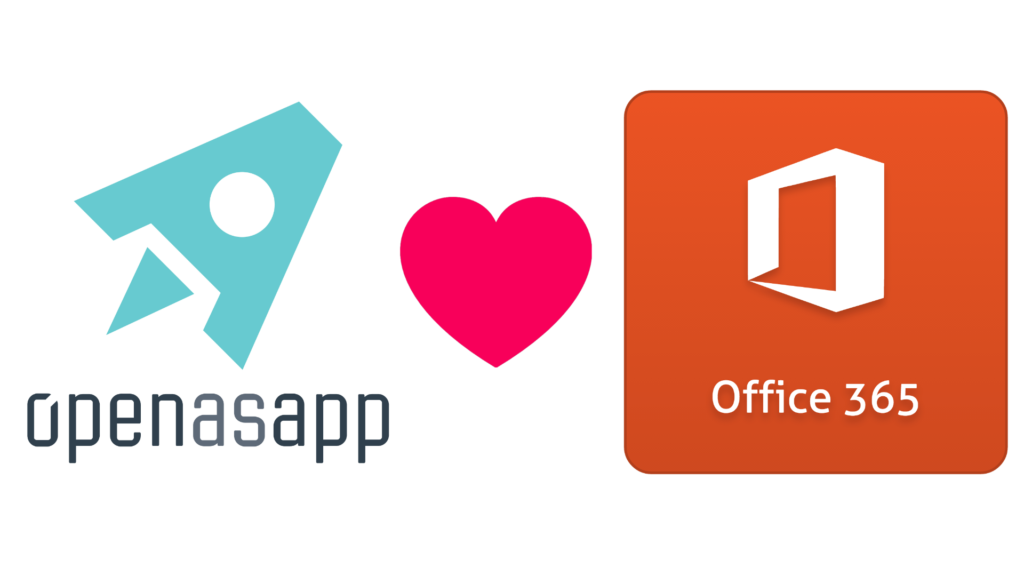 The perfect way to mobilize your business data—Open as App and Office 365