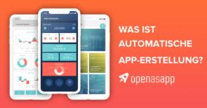 Was ist Automatische App-Erstellung